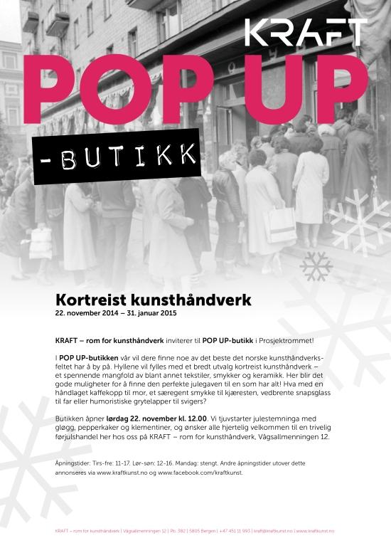 Invitasjon popup-butikk