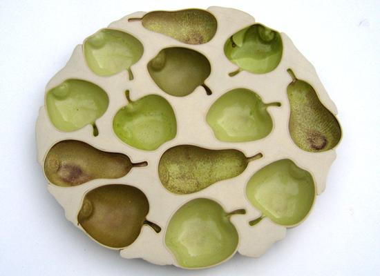 Fat for 9 epler og 4 pærer. Kunstnerforbundet 2007