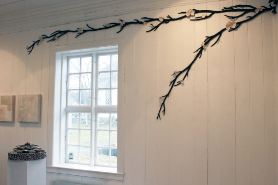 Fontene og bløming. Galleri Oz. 2010